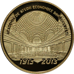 Image #2 of 10 Lei 2013 - The centennial anniversary of the Academy of High Commercial and Industrial Studies (the present-day Bucharest University of Economic Studies)0