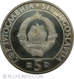 5 Dinara 1990 - Chess Olympiad, Novi Sad