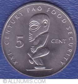 Image #1 of 5 Cents 2000 FAO