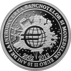 Image #2 of 10 Lei 2012 - The 10 year anniversary of the introduction of the euro banknotes and coins