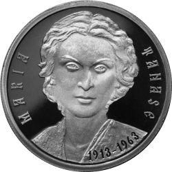 Image #2 of 10 Lei 2013 - 100th anniversary of Maria Tănase's birth - silver coin