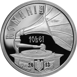 Image #1 of 10 Lei 2013 - 100th anniversary of Maria Tănase's birth - silver coin