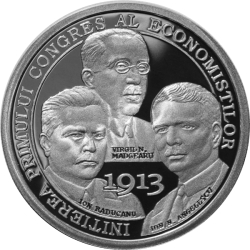 Image #2 of 10 Lei 2013 - 100 years since the initiation of the first Congress of Economists in Romania