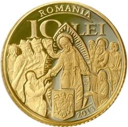 Image #1 of 10 Lei 2013 - The history of gold – the Four Gospels of Hurezi Monastery