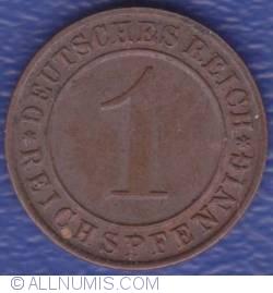 Image #1 of 1 Reichspfennig 1935 D
