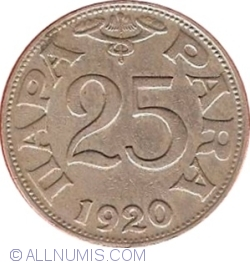 Imaginea #1 a 25 Para 1920