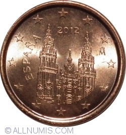Image #2 of 1 Euro Cent 2012