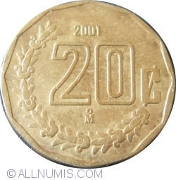 Image #1 of 20 Centavos 2001