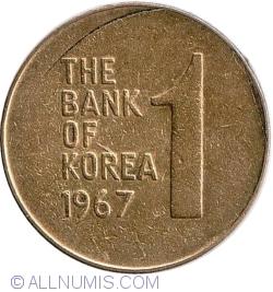 Image #1 of 1 Won 1967
