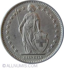Image #2 of 2 Francs 1968