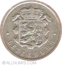 Image #2 of 25 Centimes 1957