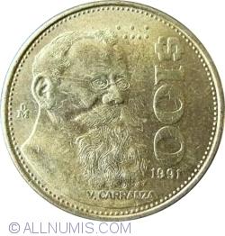 100 Pesos 1991