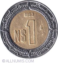 1 Nuevo Peso 1993
