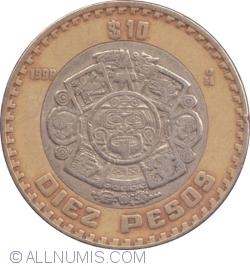 Image #1 of 10 Pesos 1998