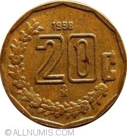 Image #1 of 20 Centavos 1998