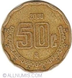 Image #1 of 50 Centavos 2000