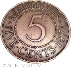 Image #1 of 5 Cents 1971