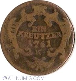 Image #1 of 1 Kreutzer 1761 K