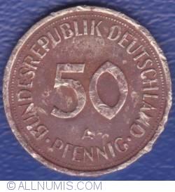 Imaginea #1 a 50 Pfennig 1992 A