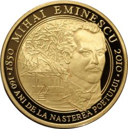 Image #2 of 500 Lei 2010 - The 160th anniversary of the birth of Mihai Eminescu