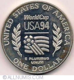 Image #1 of 1 Dollar 1994 D - 1994 World Cup Tournament