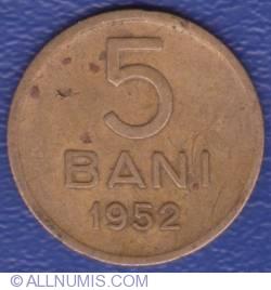 Imaginea #2 a 5 Bani 1952