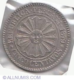 5 Centavos 1879
