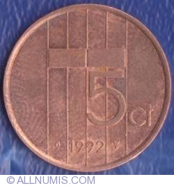 Image #1 of 5 Cents 1992