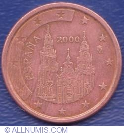 Image #2 of 5 Euro Cent 2000