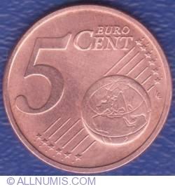Imaginea #1 a 5 Euro Centi 2009