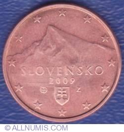 Imaginea #2 a 5 Euro Centi 2009
