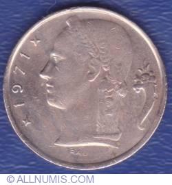 Imaginea #2 a 5 Francs 1971 (België)