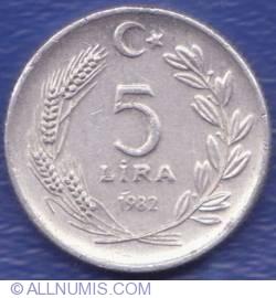 Image #1 of 5 Lira 1982