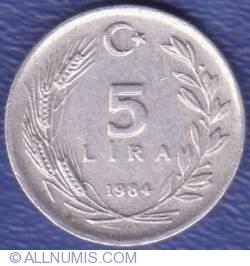 Image #1 of 5 Lira 1984