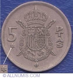 Image #1 of 5 Pesetas 1975 (76)