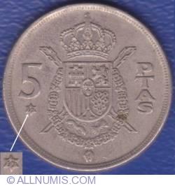 Image #1 of 5 Pesetas 1975 (77)