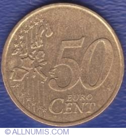 Image #1 of 50 Euro Cent 2002 (F in star)