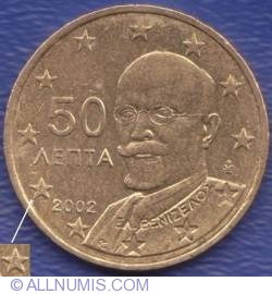 50 Euro Cent 2002 (F in star)