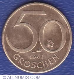 Image #1 of 50 Groschen 1961