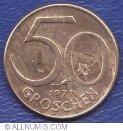 Image #1 of 50 Groschen 1971