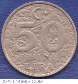 Image #1 of 50000 (50 Bin) Lira 2000