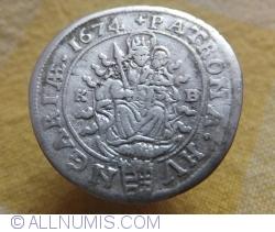 Image #2 of 6 Krajczar 1674