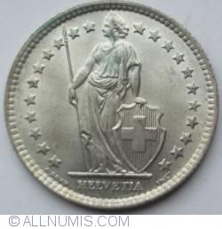 Image #2 of 2 Francs 1963
