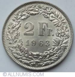 Imaginea #1 a 2 Franci 1963