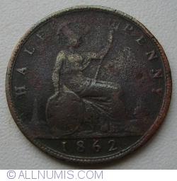 Halfpenny 1862