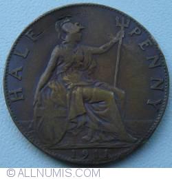 Imaginea #1 a Halfpenny 1911