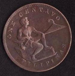Imaginea #1 a 1 Centavo 1938