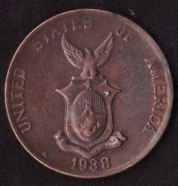 Imaginea #2 a 1 Centavo 1938