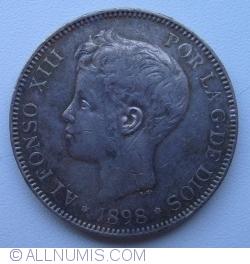 Image #2 of 5 Pesetas 1898(98)