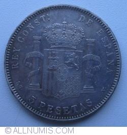 Image #1 of 5 Pesetas 1898(98)